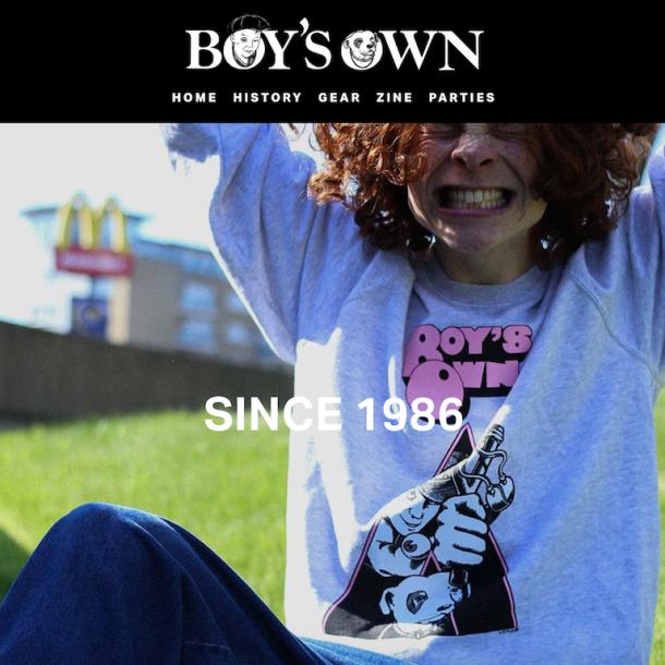 Boys Own Website