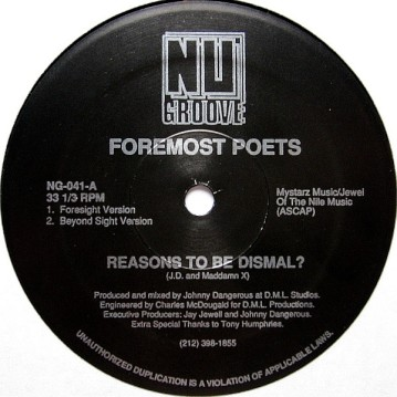 foremost poets