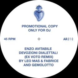 Enzo Avitabile - Devozioni Dialettali (Ex voto Rmx by Leo Mas & Fabrice and Gemolotto) - Archeo Recording 2017 - Cover A