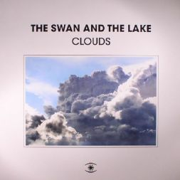 the swan and the lake clouds art