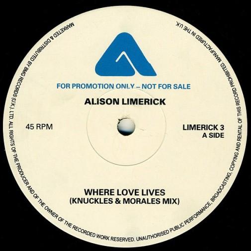 Alison Limerick - Where Love Lives