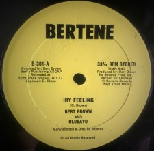 Bert Brown - Iry Feeling