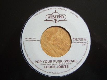 Loose Joints - Pop Your Funk