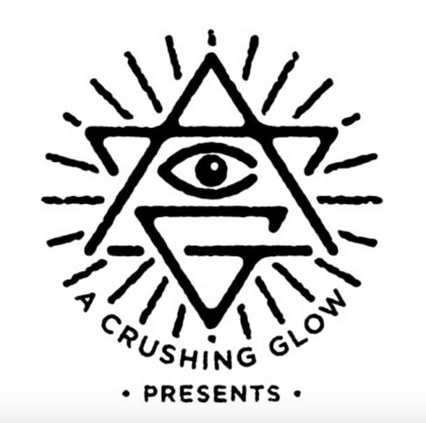 crushing glow logo
