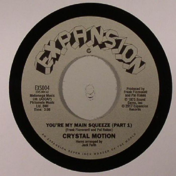 Crystal Motion - You`re My Main Squeeze