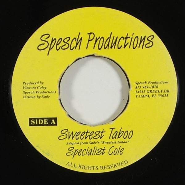 Specialist Cole - Sweetest Taboo