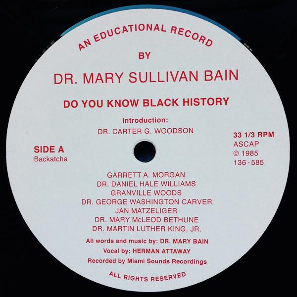 Dr Mary Bain