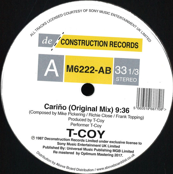 T Coy - Carino - Deconstruction