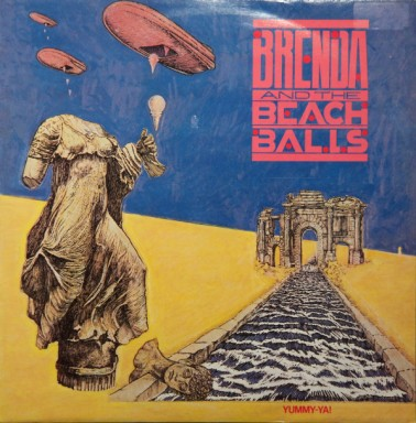 Brenda beachballs dancing thru the night