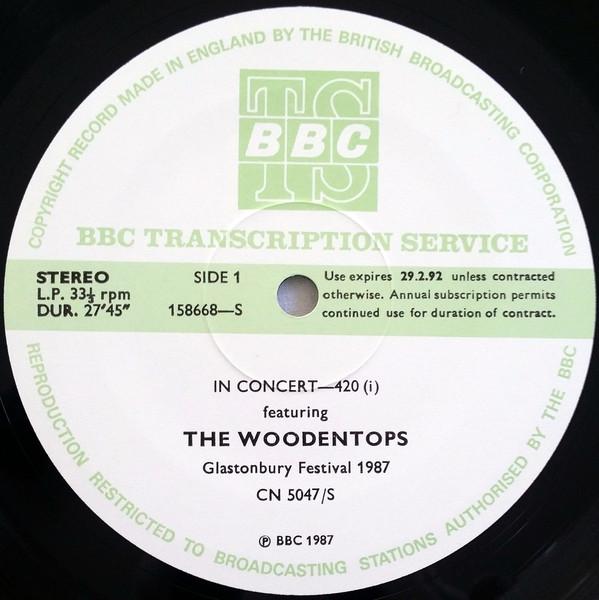Woodentops Glastonbury 1987