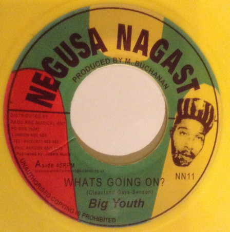 big youth Whats Going On