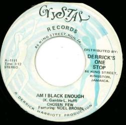 Derrick Harriott Black Enough