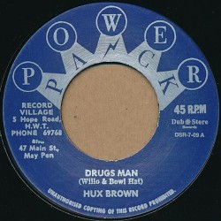 Hux Brown Drugs man