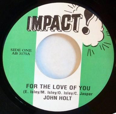 John Holt For The Love