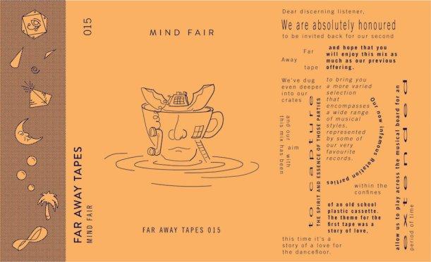 Mind Fair Far Away Tape Art
