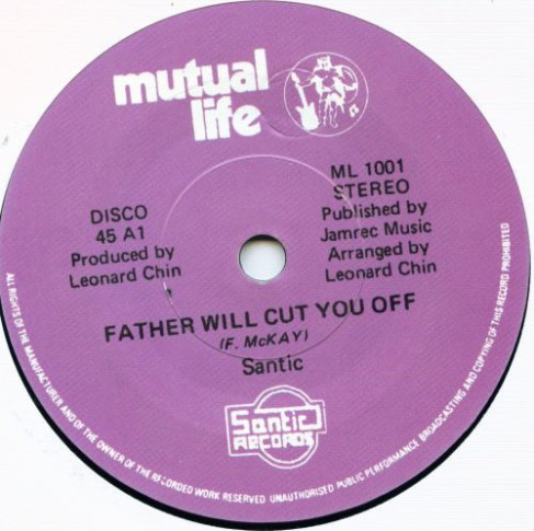 Santic Father Will Cut You Off