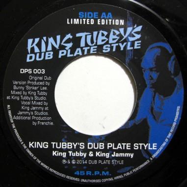 Tubby Dub Plate Style