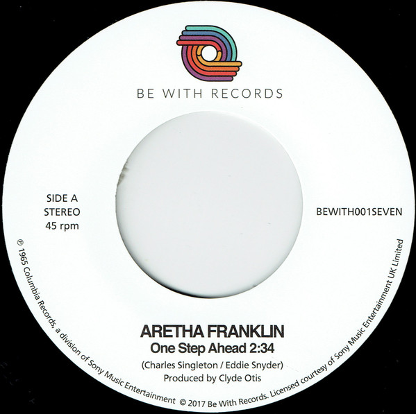 Aretha Franklin - One Step Ahead - Be With Records