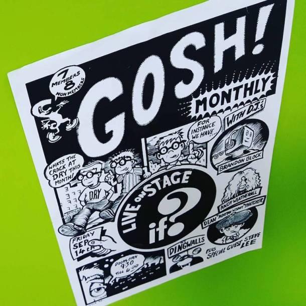 gosh monthly copy