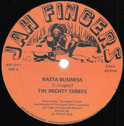 Mighty Threes - Rasta Business - Jah Fingers