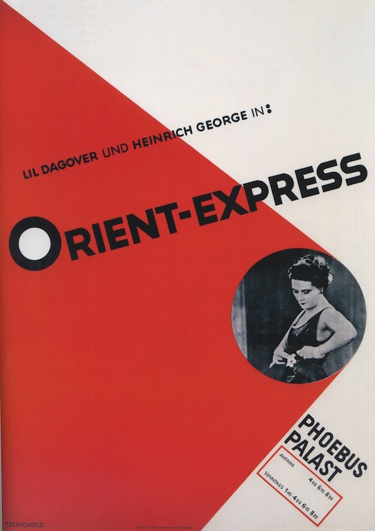 Jan Tschichold Orient Express