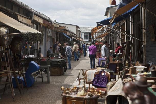 Saint Ouen Flea Market