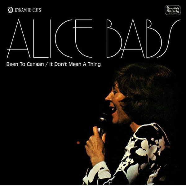 Alice Babs - Back To Canaan - Dynamite Cuts