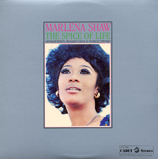 Marlena Shaw - Woman Of The Ghetto - Cadet