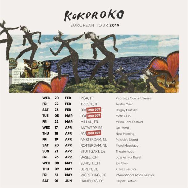kokoroko tour dates