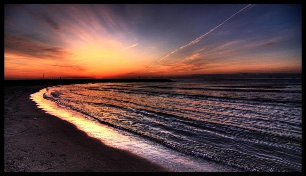puerto sagunto sunset