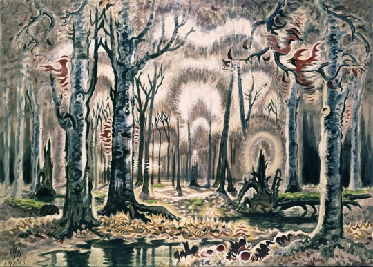 anna domino Charles Burchfield