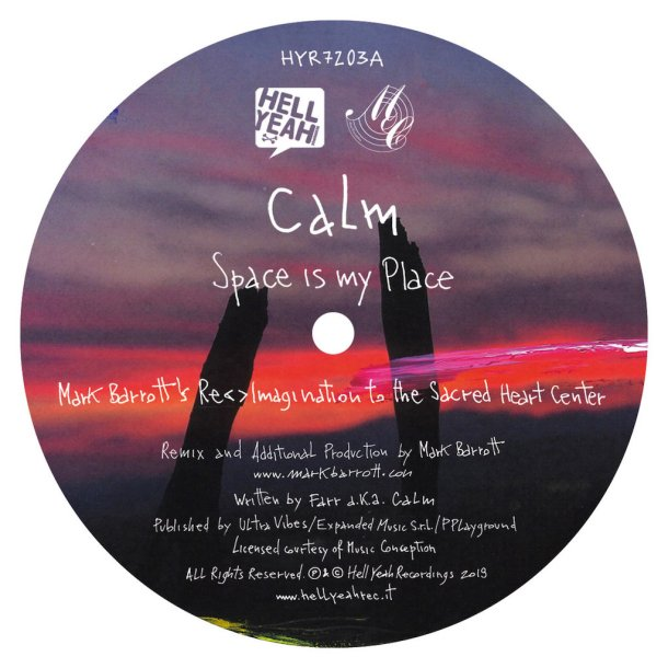 calm space is my place remixes