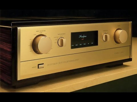 Pre-amp : Accuphase C 280V