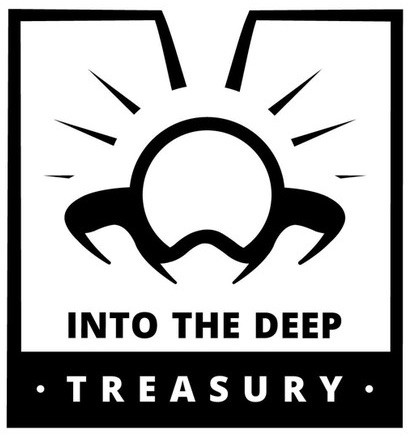into the deep treasury logo
