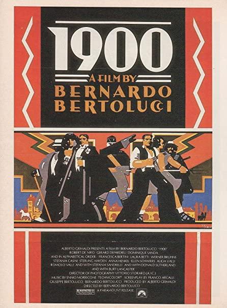 1900 Bernardo Bertolucci