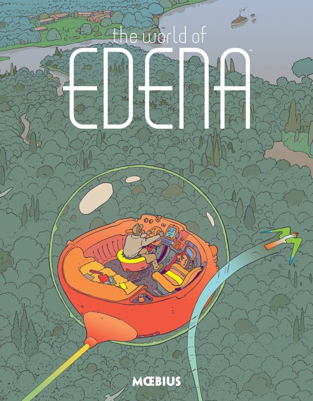 The World Of Edena by Moebius