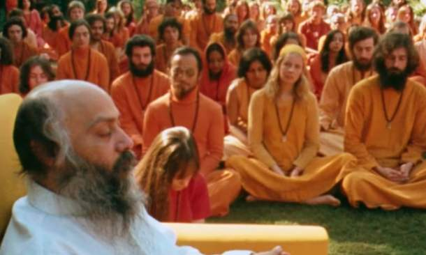 Osho orange people