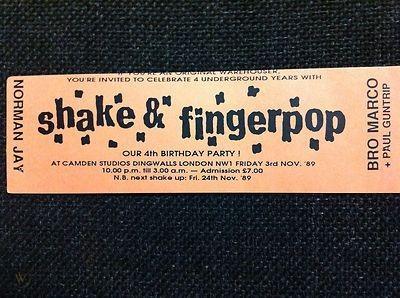 STEVE LEE SHAKE AND FINGER POP