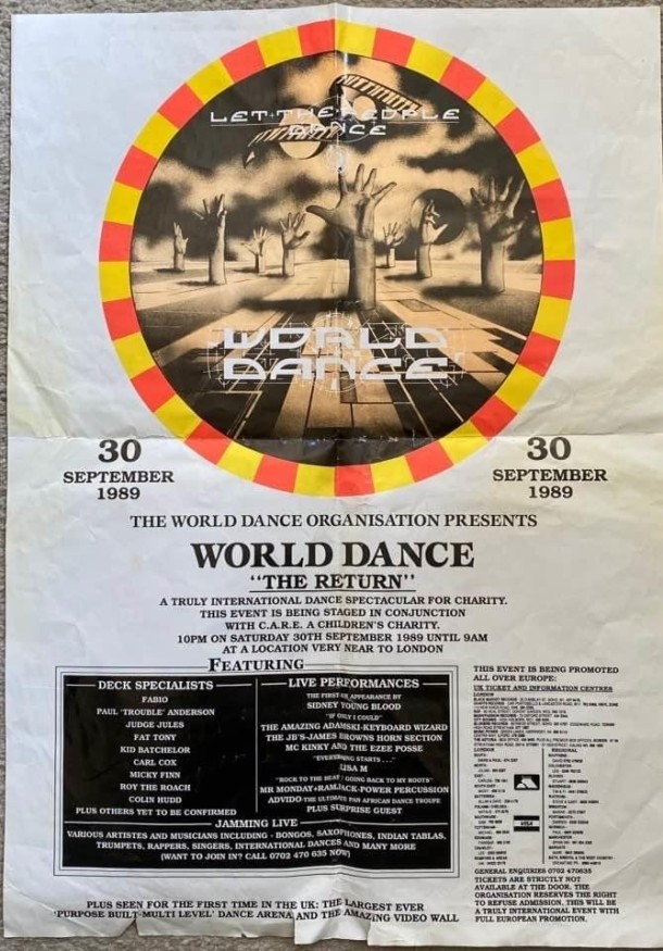 Mark Hey World Dance Poster