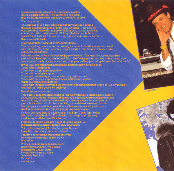 Sueno BCM Weatherall Sleeve Notes