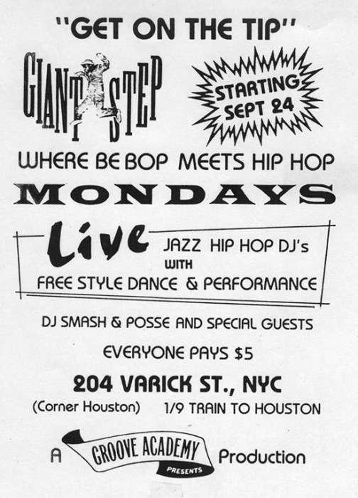 GIANT STEP acid jazz new york