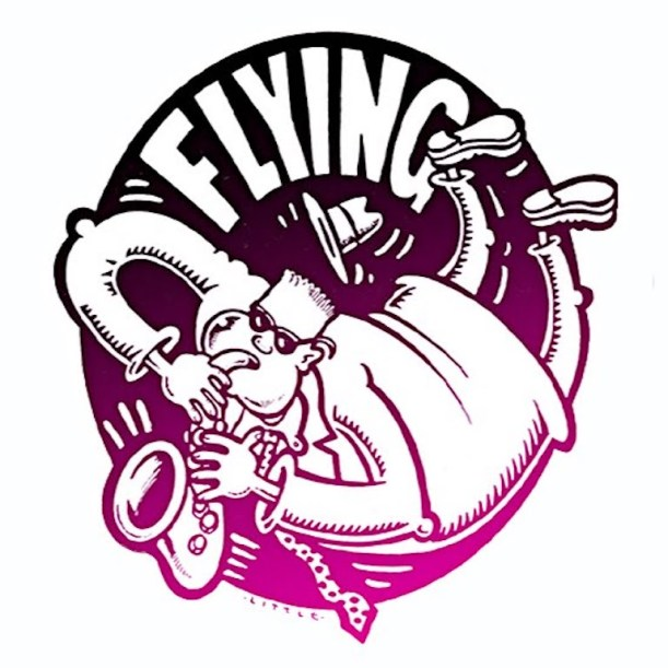 Flying logo copy