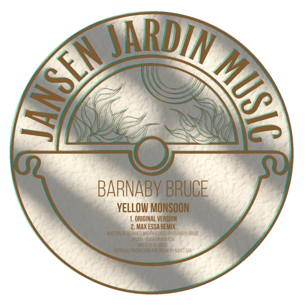 barnaby bruce yellow monsoon