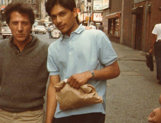 Dustin Hoffmann NYC 1985