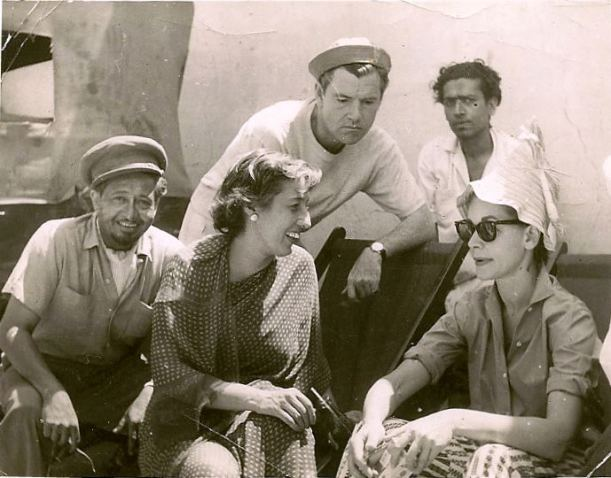 Grandpa, Star, Lauren Bacall India 1959