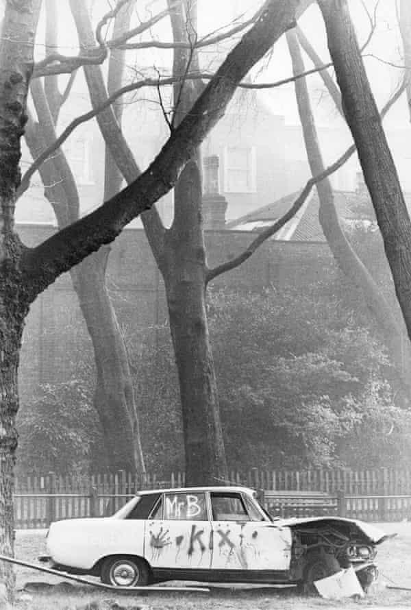 Kix Mr B bombed Car (Roger Perry)