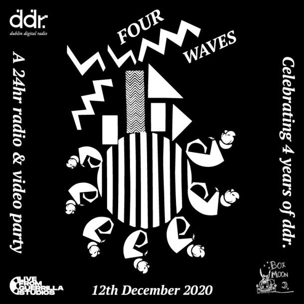 four waves festival poster