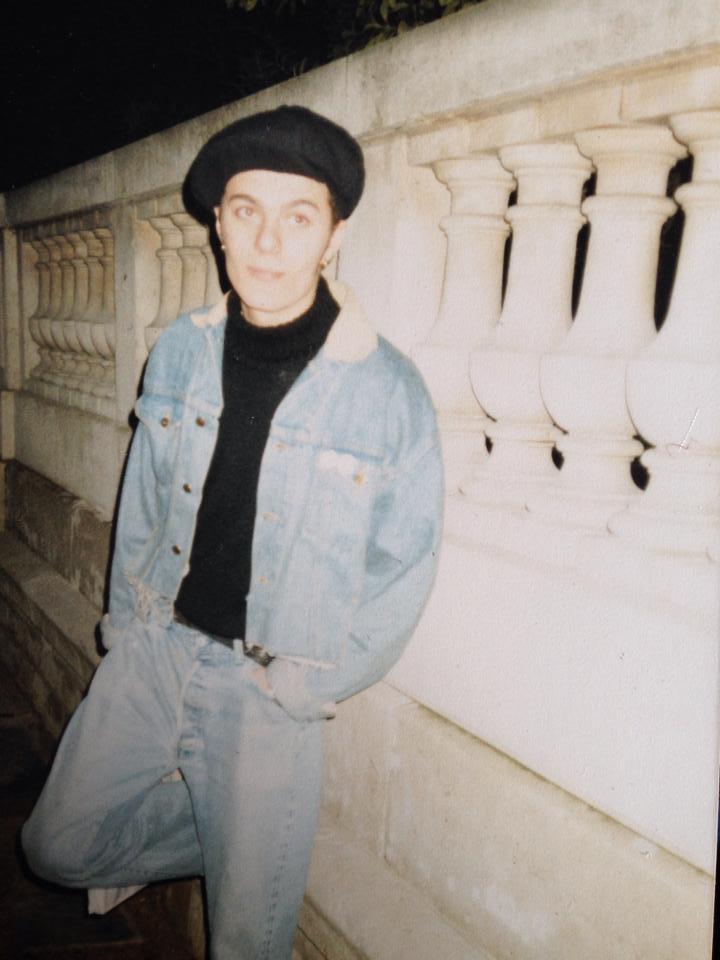 Justin Robertson Paris 1980s