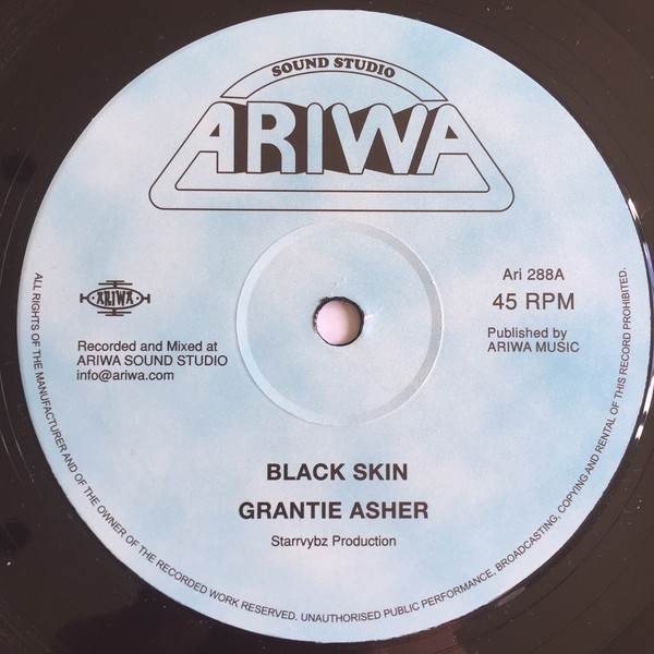 Grantie Asher - Black Skin