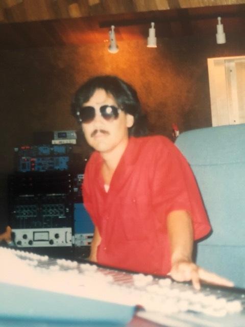Rudy In The Studio